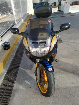 Moto Honda CBR 1000F Dual brake