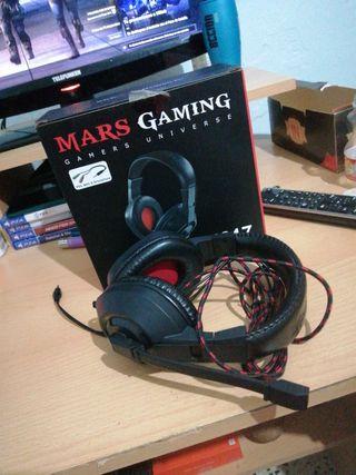 vendo cascos Mars gaming