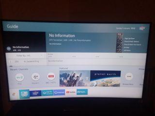 "55""inch Samsung curve smart 4k tv"