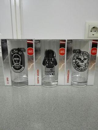 Colección Vasos Star Wars