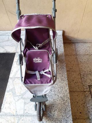 carrito silla gemelar