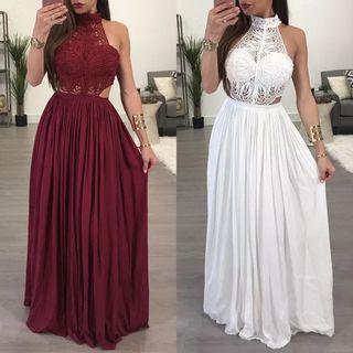 vestido de novia o fiesta largo envio incluido