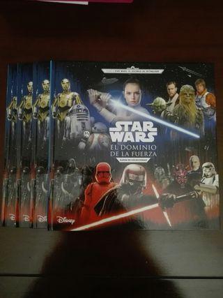 Albums vacíos Cromos Star Wars