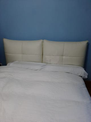 Cama 150, canapé abatible, colchón Tempur.