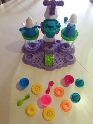 Castillo heladería play-doh