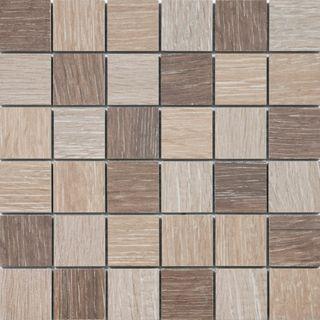 Mosaico porcelánico imitación madera