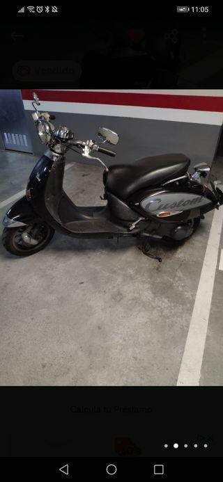 Aprilia Compay Custom 125cc
