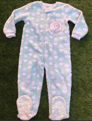 Pijama manta Frozen (Disney) talla 3 - 4 años