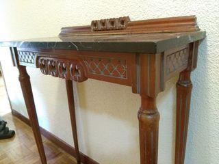 Mueble Consola espejo recibidor vintageaños 60.
