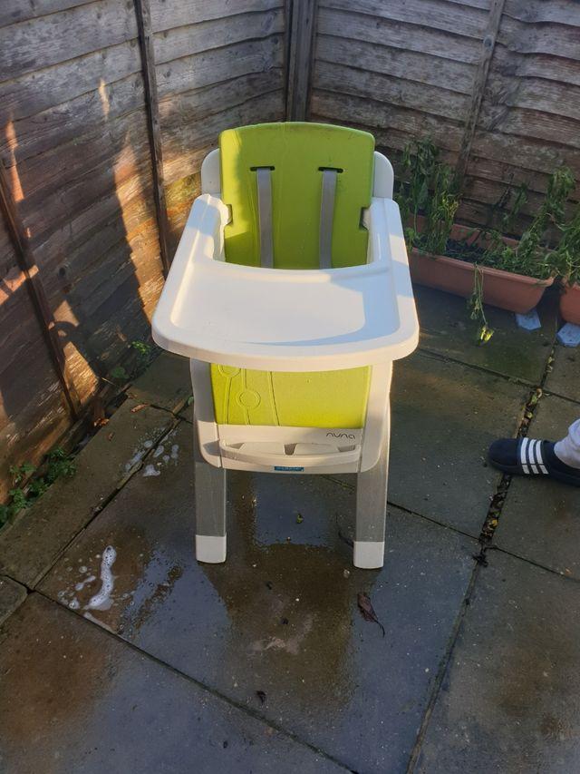 nuna high chair