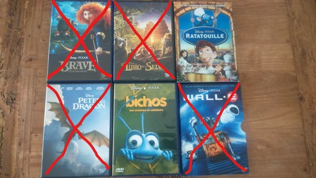 Películas infantiles Disney & Pixar