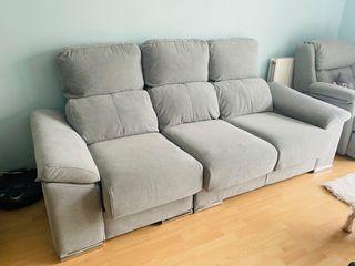 Sofa azul glaciar
