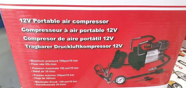 compresor aire 12v.nuevo a estrenar 10 bar