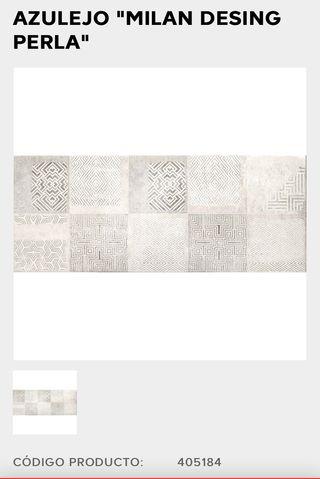 2 cajas azulejos Milán design perla modelo 2020/21