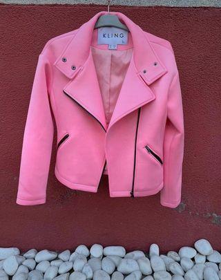 chaqueta biker de Kling