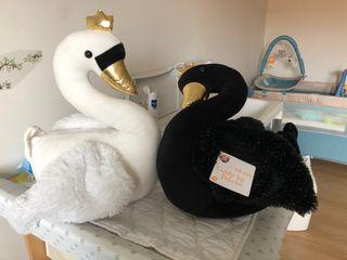 Peluche cisne bebe o niños