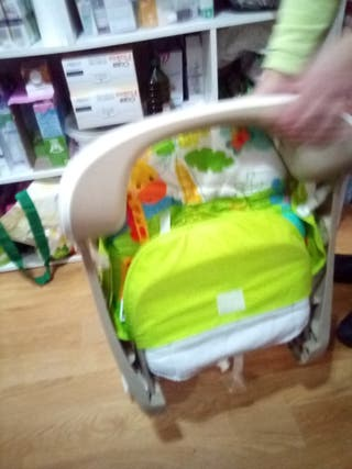 silla mecedora de bebé Fisher Price