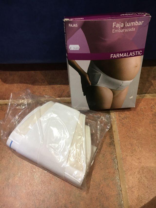 Faja lumbar embarazo