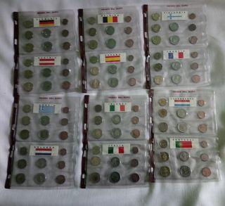 Colección de monedas de €.