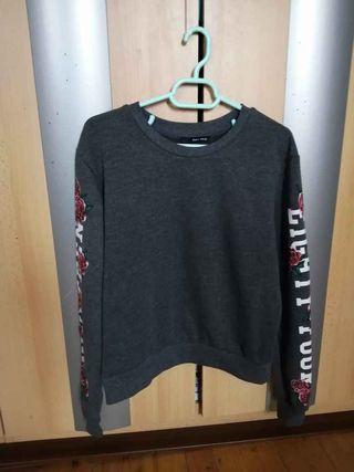Grey Short Sweater