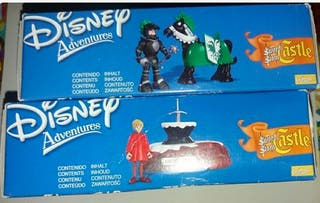 "2 cajasDisney Adventure ""Sword The Stone SIN ABRIR"