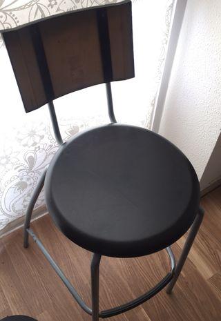 silla alta para cocina o mesa alta