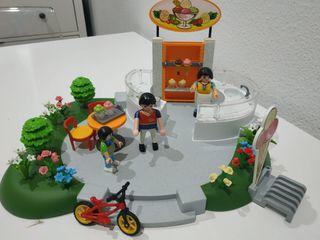 playmobil heladeria