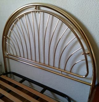 Cabecero latón cama 1,35cm
