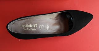 zapatos mimao negros a estrenar
