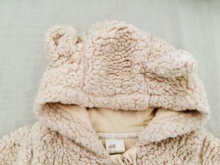 Mono buzo de invierno para bebé niño o niña 3m