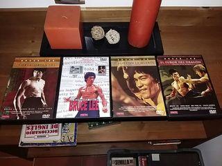 4 dvd de Bruce lee