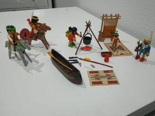 playmobil indios