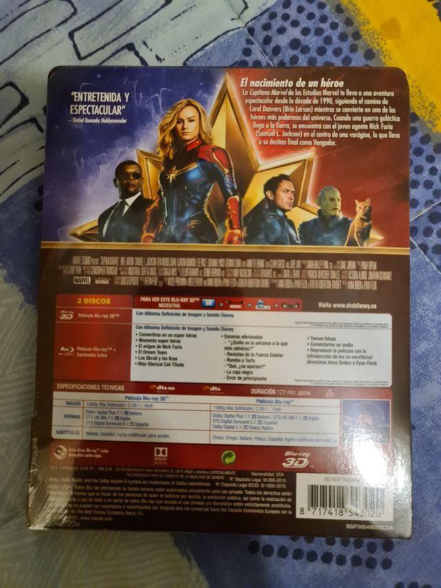 Capitana Marvel Steelbook