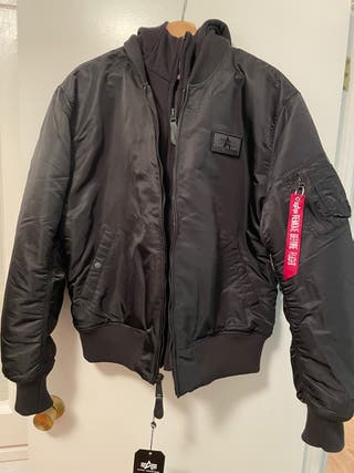 ALPHA INDUSTRIES CHAQUETA BOMBER L y XL