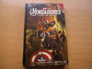MARVEL STUDIOS - VENGADORES, LA ERA DE ULTRO - DVD