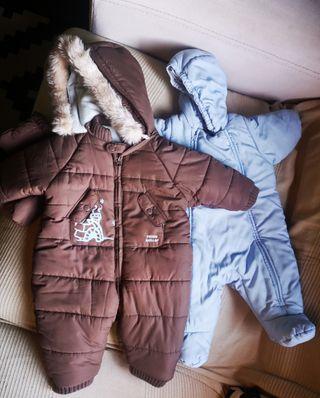 lote de dos buzos bebé de ZARA y Petir Bateau