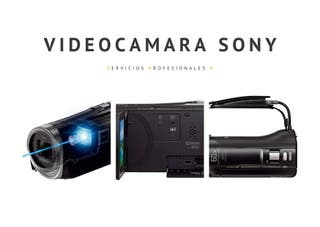 VIDEO CAMARA SONY HD.