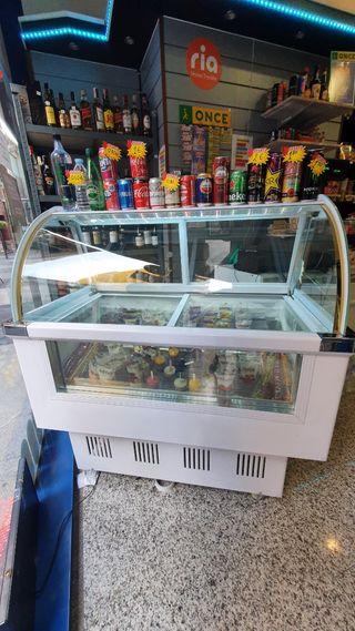 Expositor de helados Polos