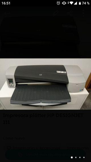 Impresora plótter HP DESIGNJET 111