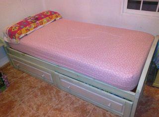 Dormitorio Juvenil completo madera maciza