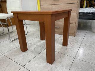 Mesa de centro madera y cristal