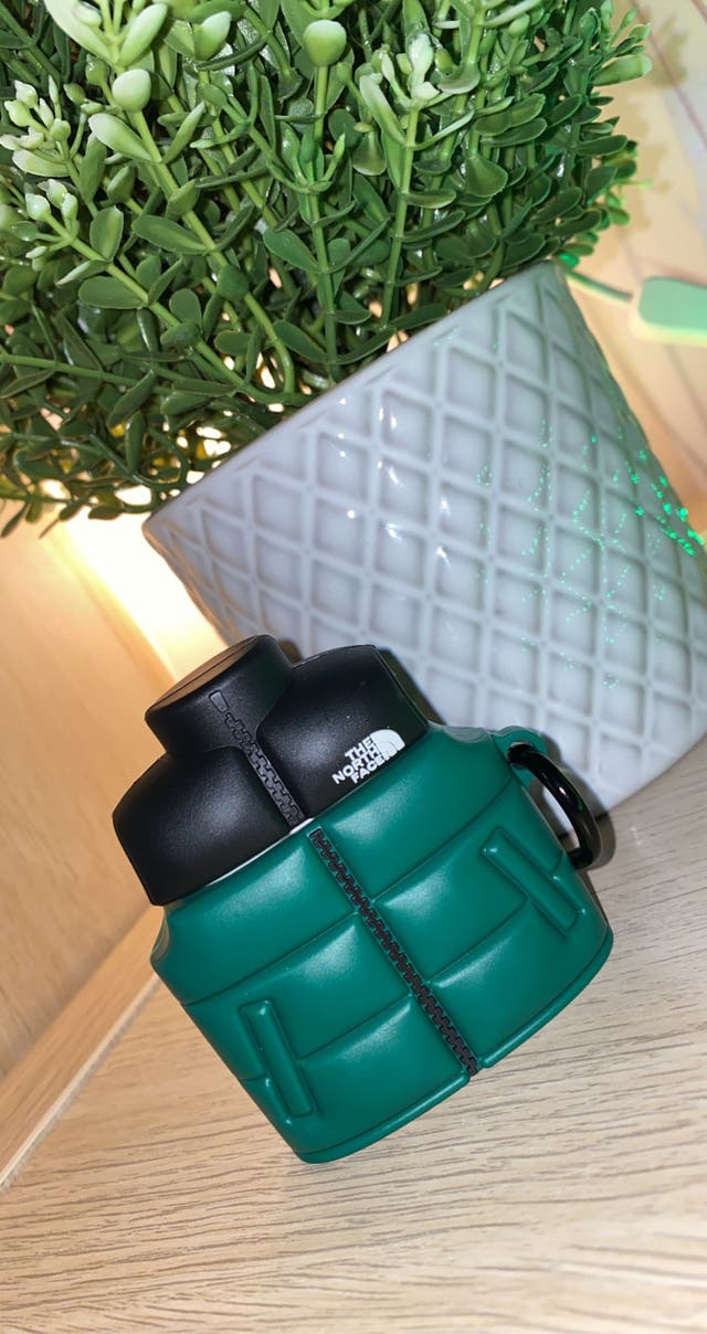North Face Style AirPod Case