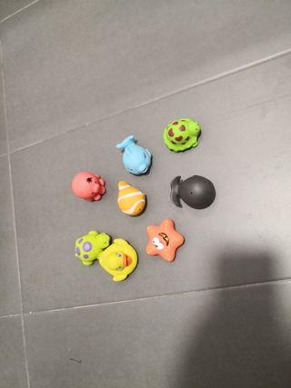Lote de juguetes de baño