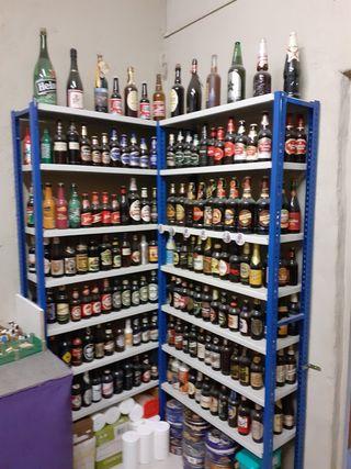 235 ampolles de cervesa totes plenes
