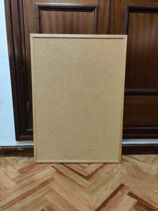 Corcho pared con marco 71x50