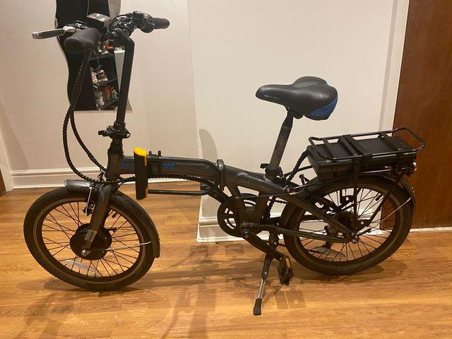 Electric folding bike: Apollo Transport