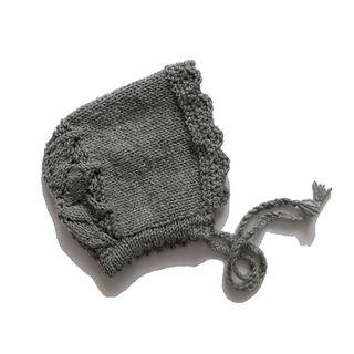 Capota de punto gris bebé 12-24 meses 1-2 años