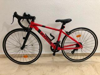 Bicicleta carretera junior