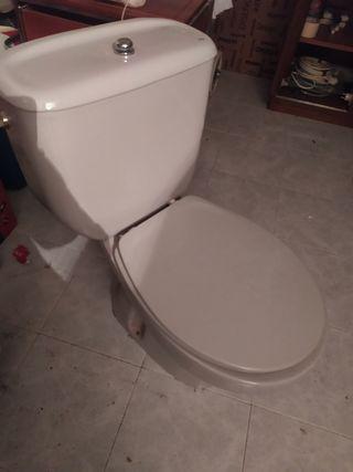 Taza WC gris marca Roca