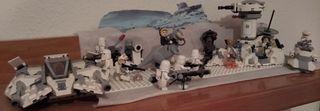 Lego STAR WARS diorama Hoth